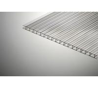 Сотовый поликарбонат КИВИ 4Х2100Х12000ММ Прозрачный